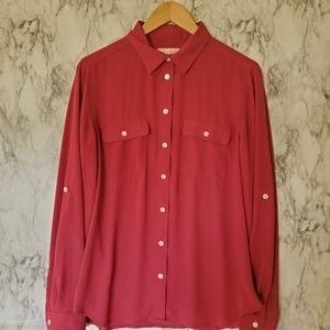 Ann Taylor Loft blouse size medium